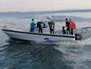 潍坊钓鱼快艇渔业养殖用快艇厂家直销玻璃钢钓鱼船订制