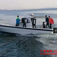 管理船玻璃钢工作用执法艇厂家直销玻璃钢订制艇图片