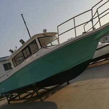 工作艇执法艇监督艇巡逻艇玻璃钢特型艇11米艇图片