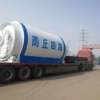 液壓進料廢輪胎裂解煉油設備