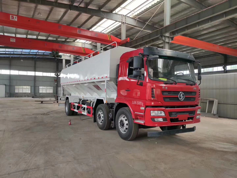 物料运输车优质厂家_适用于养殖散装饲料运输