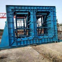 加工预制箱涵模具箱涵管廊模具厂钢筋混凝土箱涵模具图片