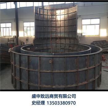 污水检查井钢模具制造混凝土检查井钢板模具制造预制井盖板模板模具制造
