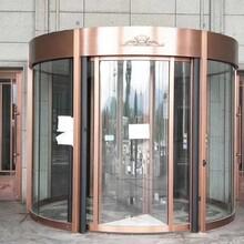 石家莊選旋轉門供銷商兩翼自動旋轉門安裝旋轉門價格款圖片