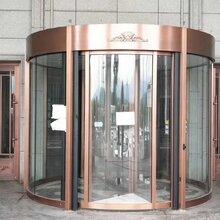 石家庄选旋转门供销商两翼自动旋转门安装旋转门价格款图片