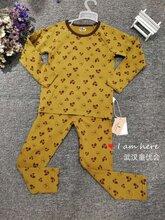 一線大牌迪士尼多啦A夢長腿叔叔萊卡棉兒童家居服套裝品牌折扣童裝批發圖片