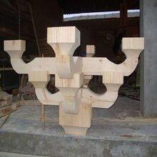 木制品生产工艺生产厂家门窗花格仿古凉亭木制品加工图片