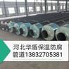 安徽芜湖热力工程预制直埋聚氨酯保温管道,钢套钢蒸汽保温管