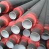 钢套钢蒸汽保温管供热管道厂家电话