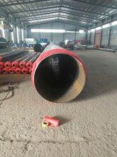 保溫管聚氨酯直埋式暖氣管道聚氨酯發泡保溫管道預制直埋管