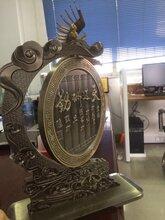 鋁板仿古銅辦公室擺件觸手可及的快樂圖片