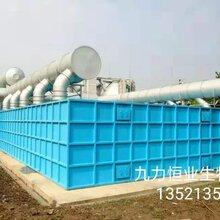 九力恒业厂家定制玻璃钢污水处理设备生物除臭设备酸雾吸收设备废气洗涤设备