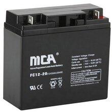 MCA蓄电池FC12-20电梯/消防设备专用蓄电池12v20ah