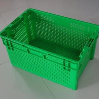 河南错位豆芽筐可倒置周转萝蔬菜运输筐土豆筐图片1