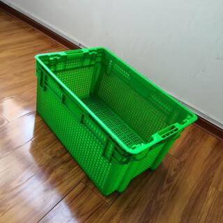 河南错位豆芽筐可倒置周转萝蔬菜运输筐土豆筐图片4