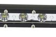 单排LED长条灯越野车射灯改装车顶灯前杠中网车灯