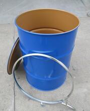 山東翻新桶二手鐵桶二手清洗干凈化工桶量大從優圖片