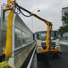 新型公路隔音屏清洗车简易操作小型可安装多种车型