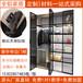 移门铝材全铝衣柜卧室订做衣帽间全铝家居壁柜橱柜
