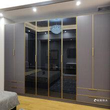 全鋁家居時尚全鋁衣柜可定制全鋁櫥柜鋁合金衣柜材料直銷