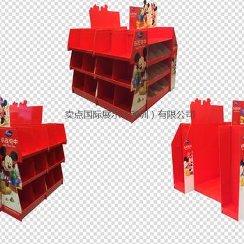 定制生产玩具架纸展架热销儿童玩具展架商品陈列工具