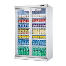 重庆两门展示柜/玻璃展示柜/串串展示柜/饮料展示柜