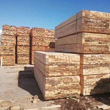 铁杉澳松建筑木方四面抛光加工土木工程方木加工定制-沪兴木业图片