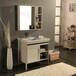 現貨全鋁家居家具定制現代鋁合金浴室柜防潮浴室柜鋁型材