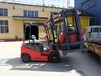 龍力德2.5噸四輪電動叉車環保無排放無明火免維護叉車自動擋帶側移