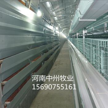 西平鸡笼厂直销中州层叠式蛋鸡笼肉鸡笼设备4列4层