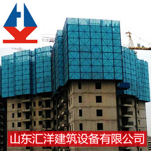 天津汇洋智能全钢爬架租赁多少钱A智能集成爬架脚手架生产厂图片