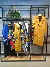 杭州一線品牌依熏19冬季時尚女裝廣州石井庫存尾貨批發貨源圖片