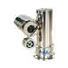 夜通航316L不銹鋼防爆攝像機防爆測溫型熱成像雙光譜攝像機