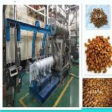 高产量高品质宠物饲料膨化机狗粮加工生产设备