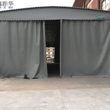 內江推拉伸縮雨棚工廠臨時雨篷倉儲雨篷活動遮陽雨棚