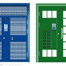 哈爾濱樓宇門供應,上門安裝圖片