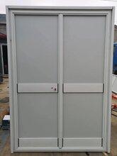 阿克苏彩色涂层钢板门的优点图片