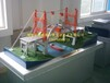 湖南中教高科纜索吊機動態施工橋梁模型,立交橋模型,橋梁整體布局仿真模型