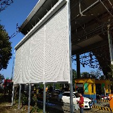 临沂玻璃房顶遮阳生产厂家图片