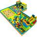大型epp積木樂園廠家直銷淘氣堡兒童樂園室內百萬海洋球池積木城