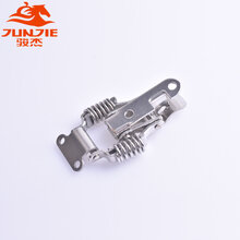 不锈钢弹簧搭扣,通用五金配件,J108B不锈钢搭扣锁图片