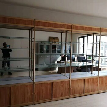 我找西快三走势图—青海仓库货架化妆品货架钛合金展柜免费送货安装