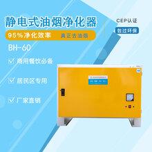 低排油烟净化器低空排放净化设备宝恒环保