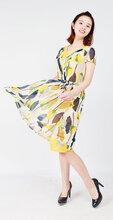 朗姿丽大码女装尾货品质折扣货源市场在哪国内一二线品牌尾货女装走份批发高性价比图片