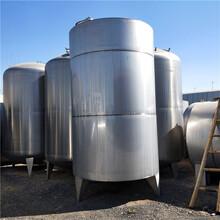 供应二手不锈钢储水罐,二手储奶罐,二手储酒罐价格图片