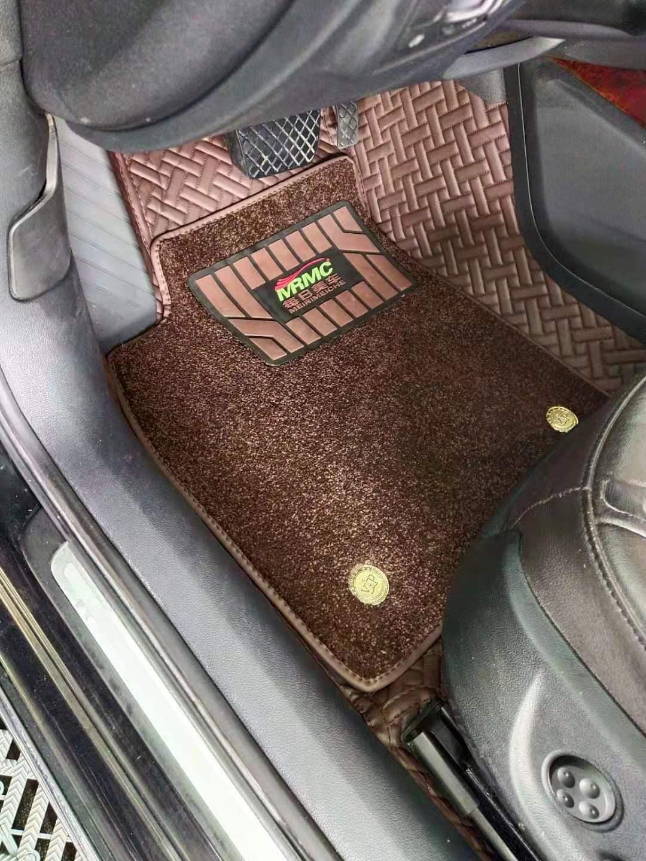 每日美车汽车脚垫360航空软包脚垫