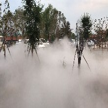 園林造霧霧森系統花卉種植噴霧加濕果蔬大棚噴霧加濕圖片