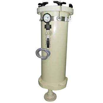 厂家直销PP塑料耐酸碱大流量耐高压电镀过滤器JBF-2006