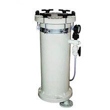 厂家直销PP塑料耐酸碱大流量耐高压电镀过滤器JBF-2006图片