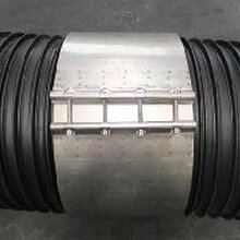 天智达DN500塑钢缠绕管用不锈钢卡箍图片